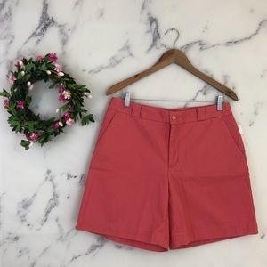 GAP Chino Shorts in Coral Pink